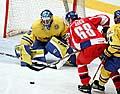 Hockeyistas checos derrotaron a los suecos en la prórroga por 3 - 2 (Foto: CTK)