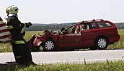 Autounfall von Jan Langos (Foto: CTK)