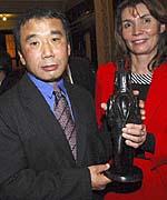 Haruki Murakami and Marketa Miloskova, photo: CTK
