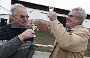 Jan Fencl and Milos Zeman, photo: CTK