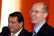 Jiri Paroubek and Bohuslav Sobotka, photo: CTK