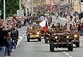 Oslavy osvobození vPlzni, foto: ČTK