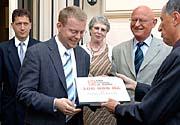 Pavel Blazek, zweiter von links (Foto: CTK