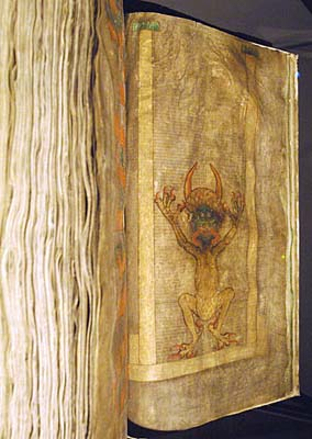 The wondrous Codex Gigas aka the Devil's Bible goes on display in Prague Radio Prague