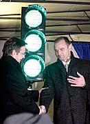 Interior Minister Ivan Langer and his Austrian counterpart Günther Platter (left), photo: CTK