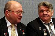 Vladimír Remek und Alexej Gubarev (Foto: ČTK)