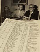Le List de Schindler, Oskar Schindler,(au milieu), photo: CTK
