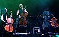Grupo Apocalyptica en el festival de Vizovice (Foto: CTK)