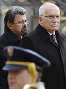 Staatspräsident Václav Klaus (Foto: ČTK)