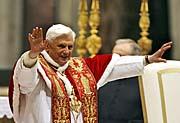 Benedict XVI, photo: CTK