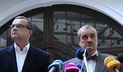 Miroslav Kalousek, Karel Schwarzenberg (right), photo: CTK