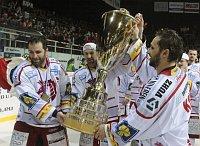 Neuer tschechischer Eishockeymeister ist der HC Oceláři Třinec (Foto: ČTK)