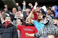 Unzufriedene Slavia-Fans (Foto: ČTK)