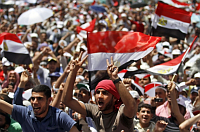 Protests in Cairo, April 20, 2012, photo: CTK