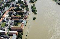 Elbe in Ústí nad Labem / Aussig (Foto: ČTK)