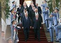 Miloš Zeman avec le nouveau gouvernement, photo: CTK