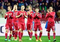 El equipo checo satisfecho al no perder ni un solo punto. Foto: ČTK.