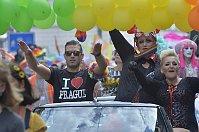 Фестиваль Prague Pride (слева Омар Шариф мл.), Фото: ЧТК