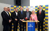 Christian Democrats representatives, photo: CTK