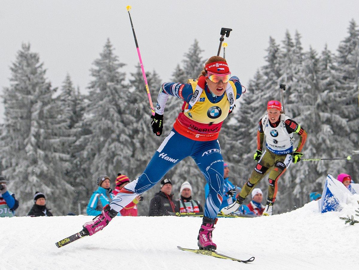 Biathletin Koukalova