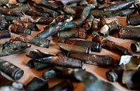 Ammunition from B-17G bomber, photo: CTK