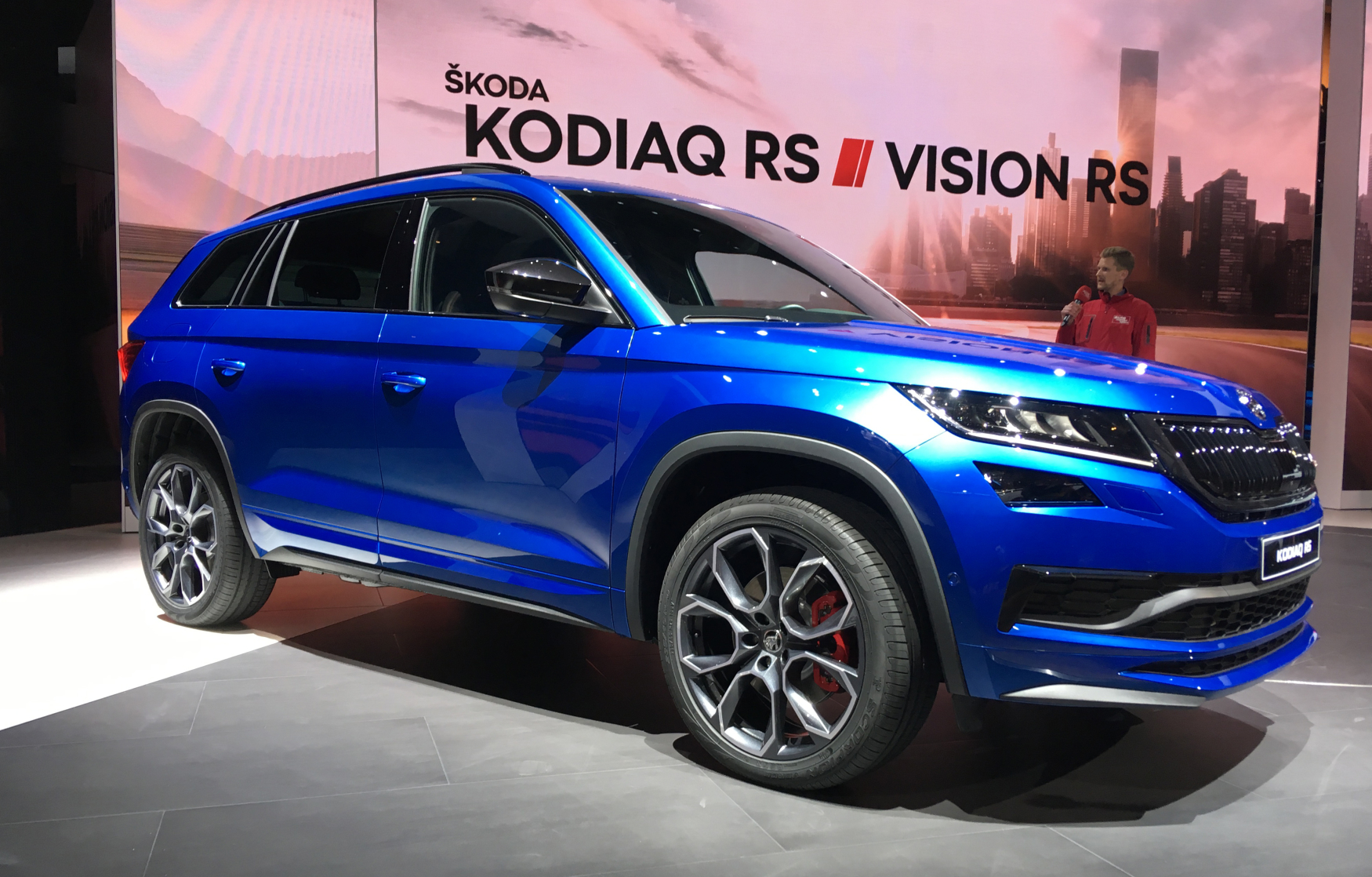 koda boss unveils new suv kodiaq rs radio prague. Black Bedroom Furniture Sets. Home Design Ideas