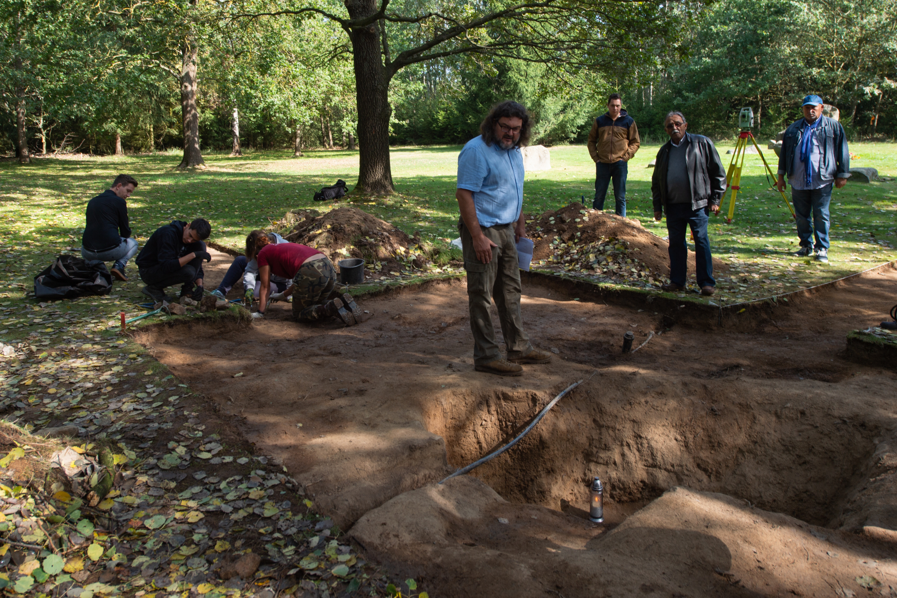 Archaeologists discover graves of Roma persecuted during WWII in Lety camp