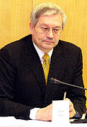 The governor of Karlovy Vary Josef Pavel, photo: CTK
