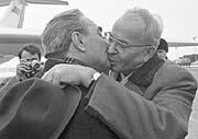 Густав Гусак и Леонид Брежнев (Фото: ЧТК)