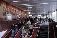 Станция метро «Московская», 1985 г. (Фото: ЧТК)