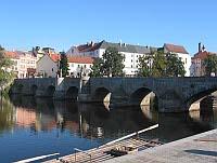 Kamenný most vPísku vpůvodním stavu