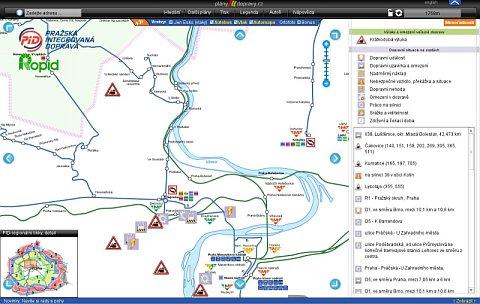 Prag Karte Offentliche Verkehrsmittel.Neue Elektronischer Helfer Interaktiver Plan Des Prager