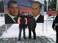 «Эпохальное путешествие пана Тржиски в Россию», Ярослав Тржиска, справа (Фото: Архив Чешского Телевидения)