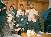 Marta Kubišová and Václav Havel: Civic forum, photo: www.kubisova.cz
