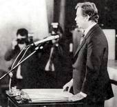Václav Havel became president of Czechoslovakia on 29th December 1989