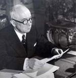 Le président Edvard Benes