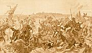 La bataille de Chlumec en 1775