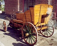 Replica of Božek's steam automobile