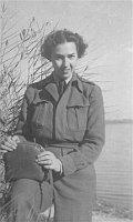 Greta Fischer in Prien am Chiemsee (Foto: United States Holocaust Memorial Museum)