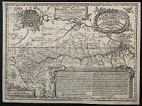 Landkarte des Amazonas-Gebiets von Samuel Fritz