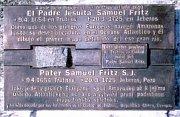 Gedenktafel zu Ehren von Samuel Fritz