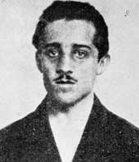 Estudiante serbio, Gavrilo Princip