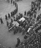 Gottwalds Begräbnis
