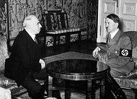Emil Hácha and Adolf Hitler