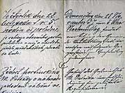 Zweisprachige Bekanntmachung aus dem Jahre 1867