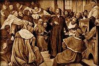 Hieronymus wurde an das Konzil ausgeliefert