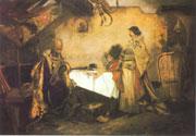 Georg von Podiebrad mit Matthias Corvinus