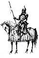 Sipáhi - Jinete turco en caballo