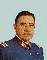 Augusto Pinochet, foto: Wikimedia Commons Free Domain