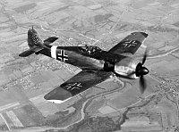Jagdflugzeug Fw-190 Focke Wulf